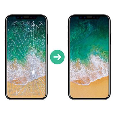 Ép kính iPhone Xs Max chính hãng