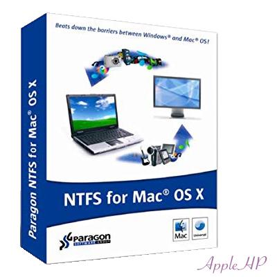 Paragon đọc ghi NTFS trên Mac OS