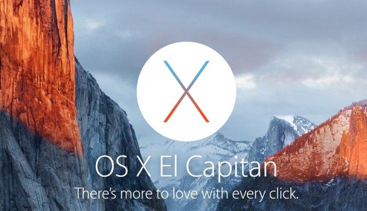 Hướng dẫn tạo bộ cái Mac OS Capital 10.11